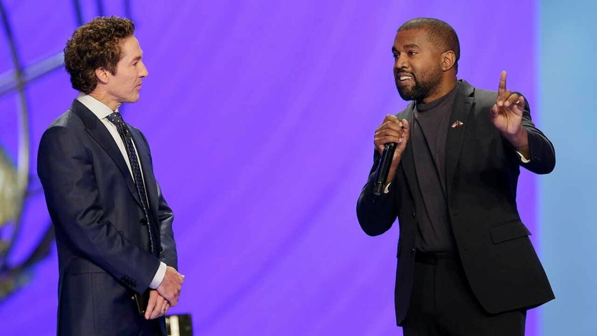 Joel Osteen and Kanye West to Collaborate