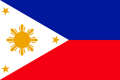 Sherin Thawer Filipino flag