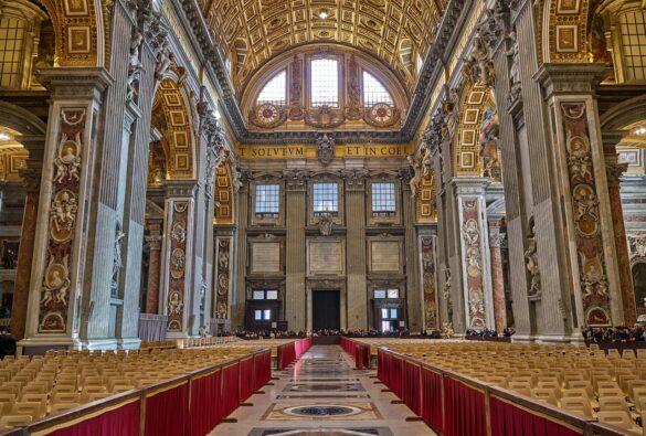 Sherin Thawer St. Peter's Basilica